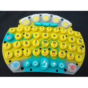Silicone Keypad for Game Player