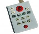 Hard epoxy keypad